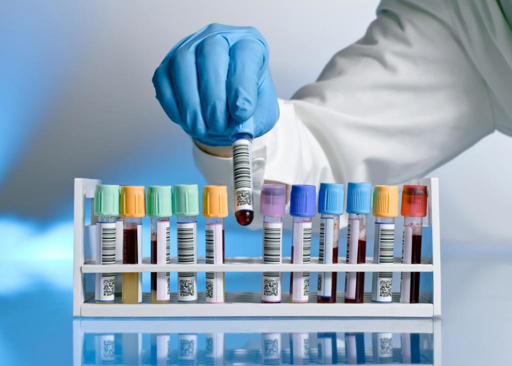 Материал для медицинских анализов