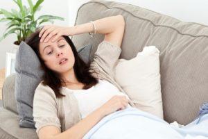 Головные боли и слабость при беременности