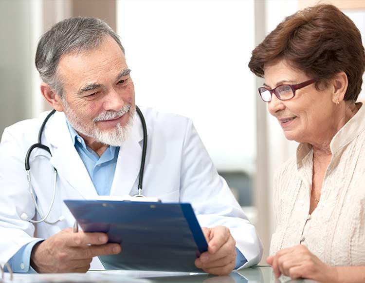 На приеме у врача-дииагноста
