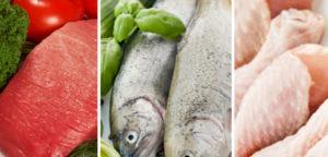 Мясо и рыба