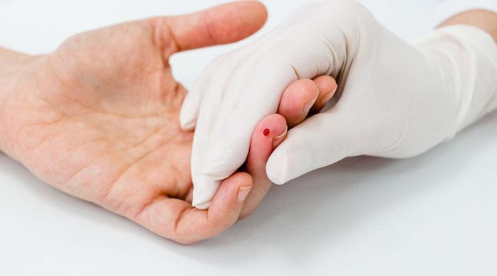 Взятие крови