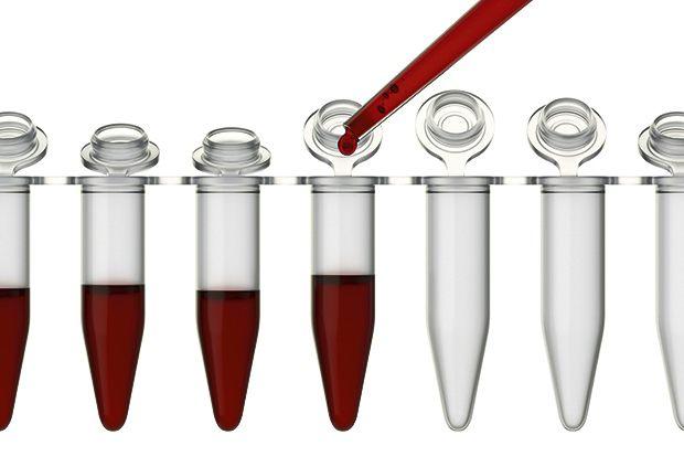 Проба с кровью