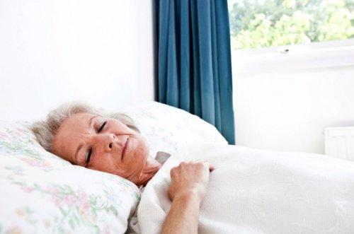Спящая пациентка