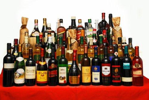 Крепкие напитки